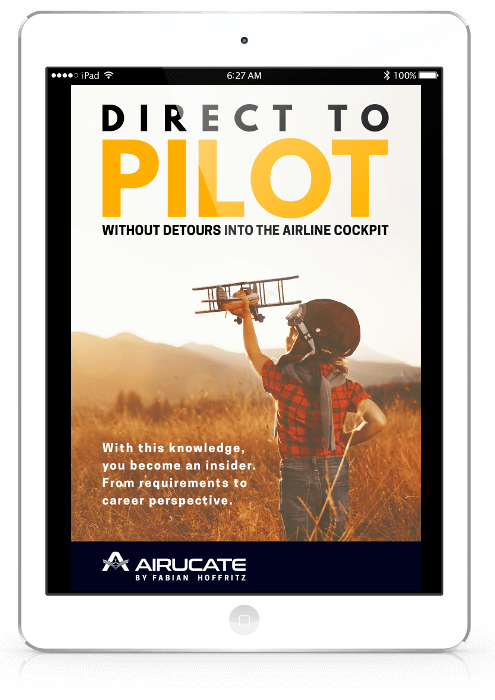 direct to pilot ebook mockup ipad white front english